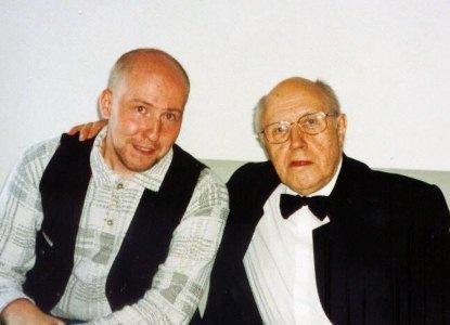 Дмитрий Лузин и Мстислав Ростропович