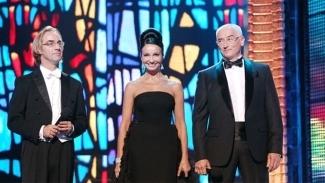 Фабио Мастранджело, Алла Сигалова и Алексей Бегак. Фото - Вадим Шульц