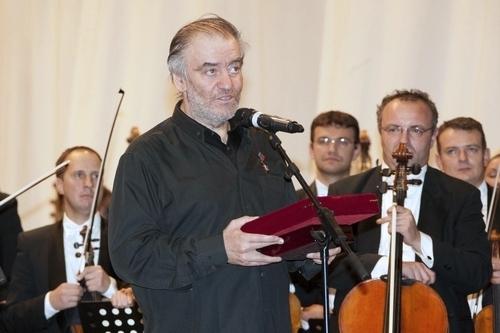 Валерий Гергиев на церемонии награждения