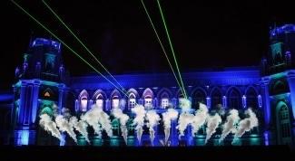 """Лазерное шоу в """"Царицыно"""". Фото - Дарья Козак"""