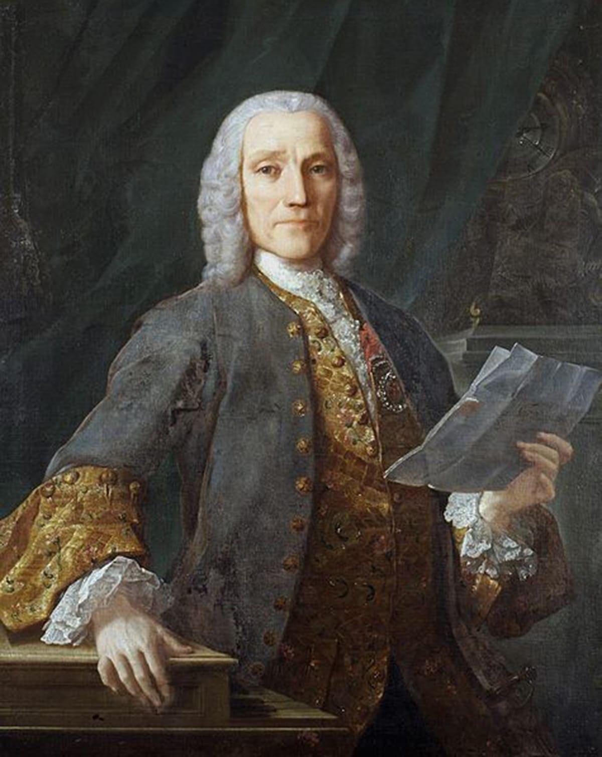 Портрет Доменико Скарлатти работы Антонио Веласко,1738