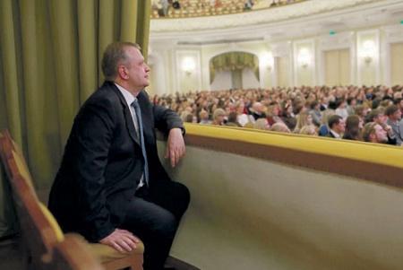 Сергей Капков на «Ночи музыки» в Большом зале консерватории