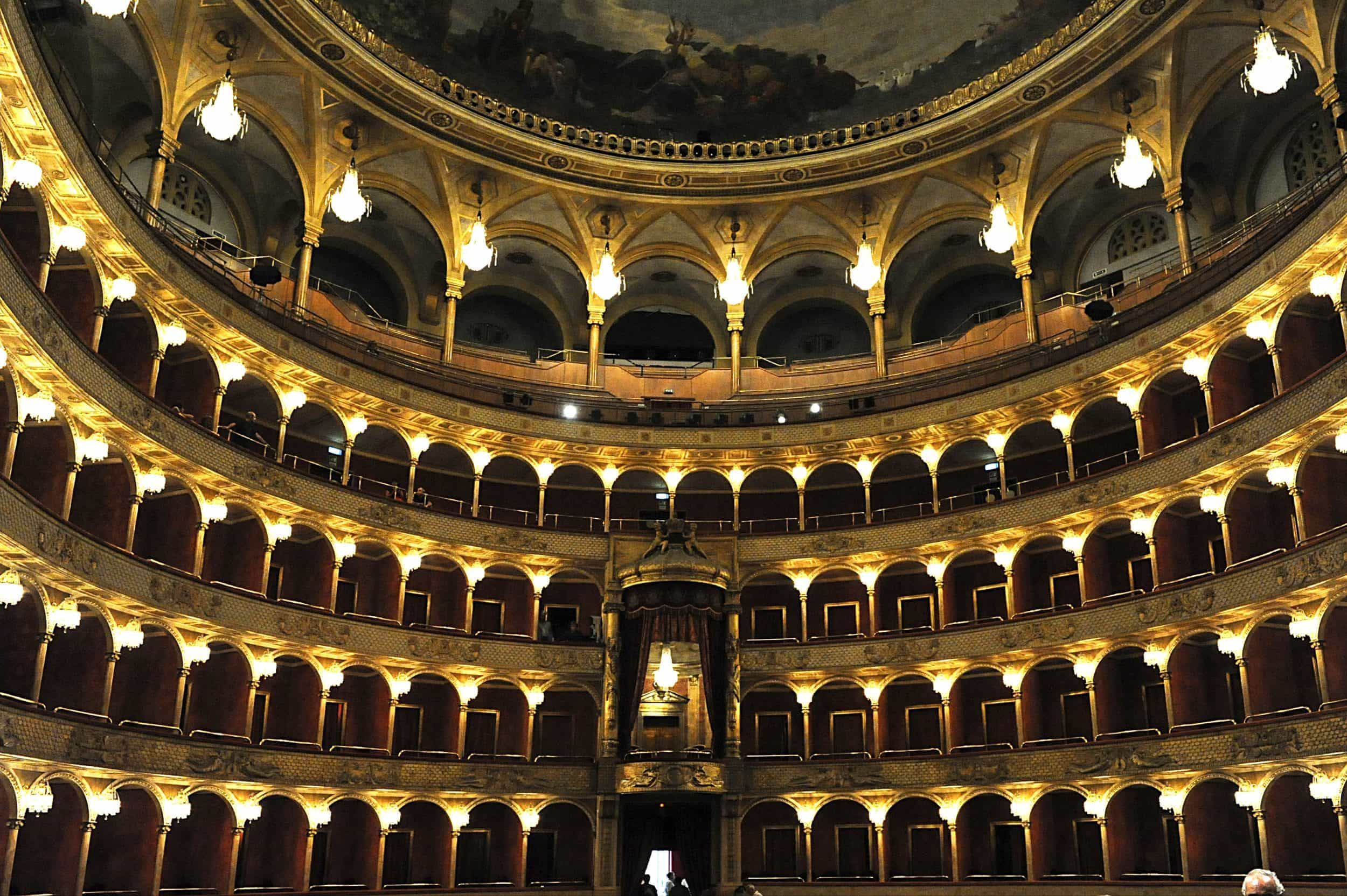 Зал Римского оперного театра
