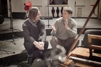 Теодор Курентзис и Богдан Росчич. Фото - Алексей Романов