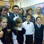 Юрий Башмет на открытии образовательного центра в Жуковском