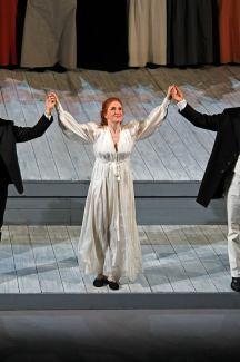 Лора Клейкомб на сцене Большого театра. Фото -Федор Борисович