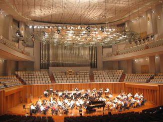 Концертный зал Пекинского центра искусств