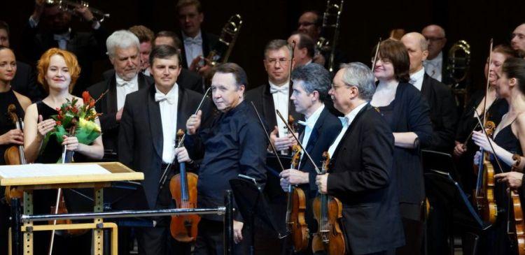 В Красноярске прошел концерт Российского национального оркестра