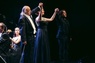 Аркадий Берин, Екатерина Щербаченко и Роберто Аланья