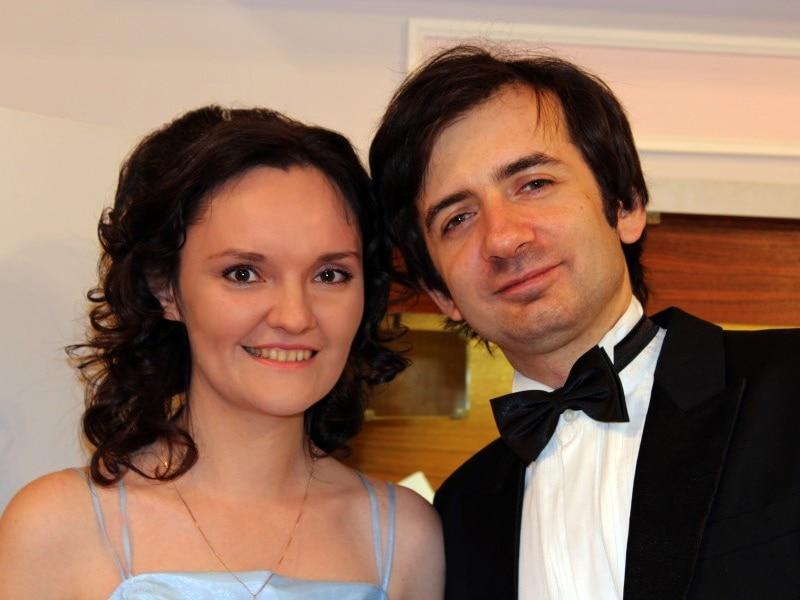 Мария Блажевич и Дмитрий Ушаков
