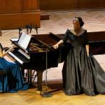 Хибла Герзмава и Екатерина Ганелина на сцене БЗК. Фото - Алена Ездакова