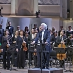 Гельмут Риллинг на концерте в Концертном зале имени Чайковского. Фото - МГАФ