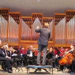 Мероприятие началось с «часа оркестра»