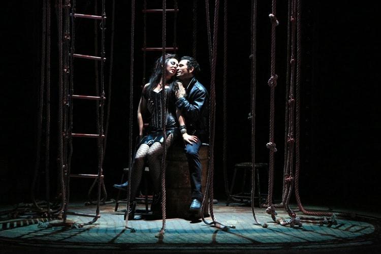 «Риголетто» в Большом театре. Фото - Олег Черноус