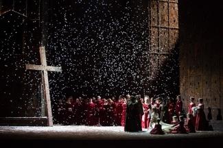 «Ромео и Джульетта» в «Новой опере» . Фото - Даниил Кочетков