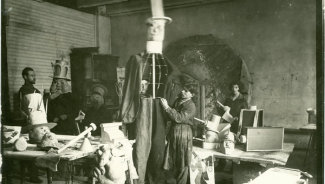 """Балет Шостаковича """"Болт"""". Архивная фотография"""
