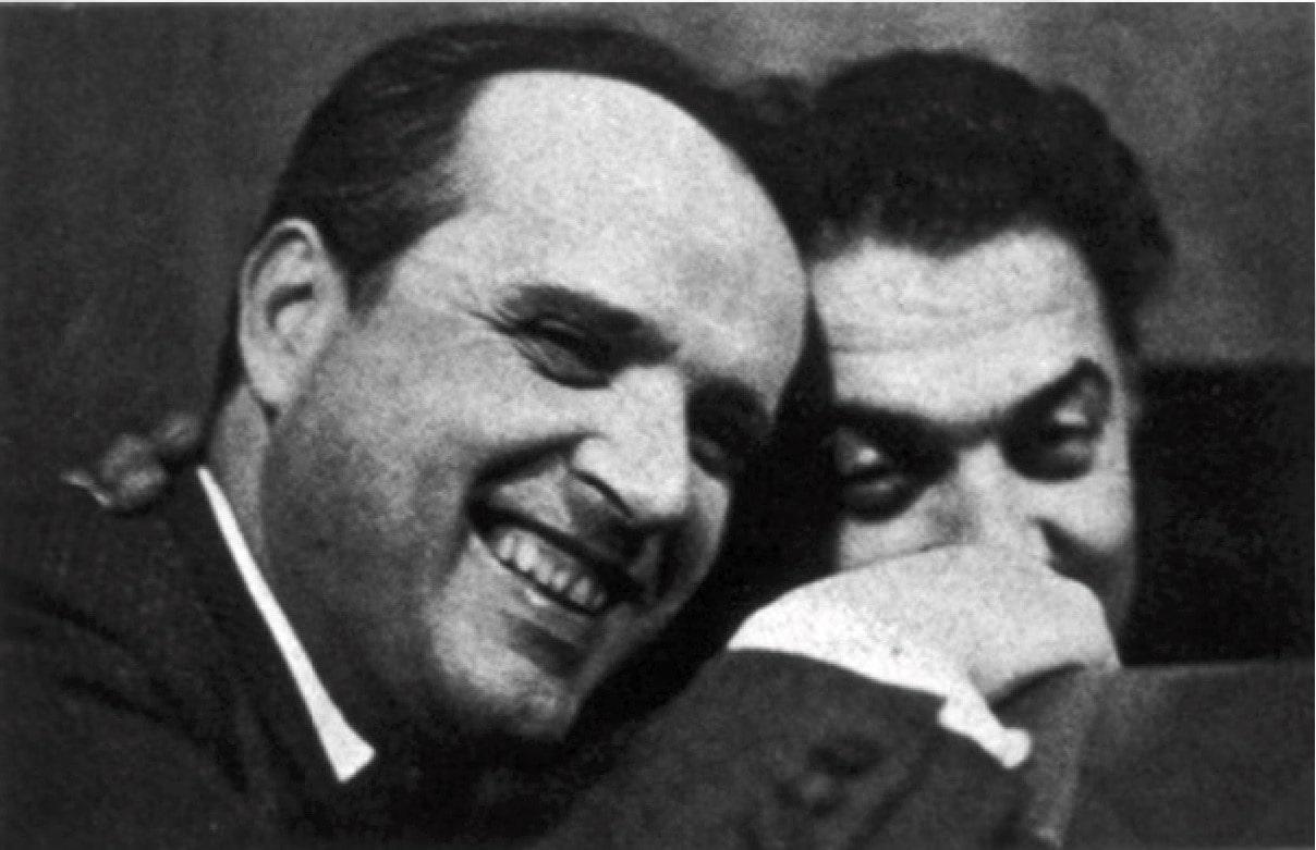 Нино Рота и Федерико Феллини