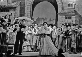 "Ирина Архипова и Марио Дель Монако в опере ""Кармен"", 1959 год"