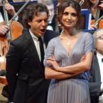 Валентина Нафорница и Дмитрий Корчак выступили в новогоднем оперном гала маэстро Владимира Спивакова