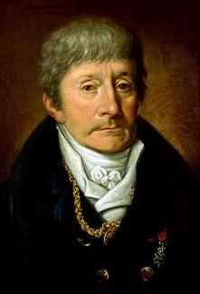 Прижизненный портрет Антонио Сальери. Художник Йозеф Мелер