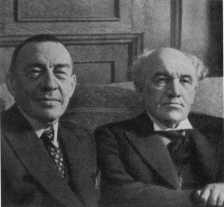 Сергей Рахманинов и Николай Метнер