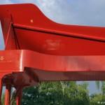 Символ фестиваля Klavierfest Ruhr - красный рояль