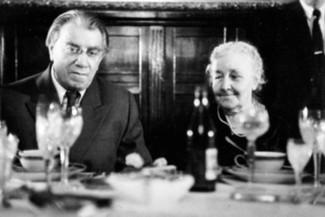 Супруги Глиэр. Рейнгольд каждое утро целовал руку своей жене Марии, с которой прожил более 60 лет