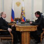 Путин поздравил Башмета с днем рождения и поблагодарил за творчество