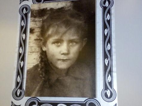 Лена Образцова в детстве