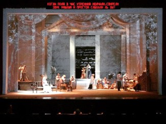 «Евгений Онегин» Чайковского в постановке Михаила Панджавидзе