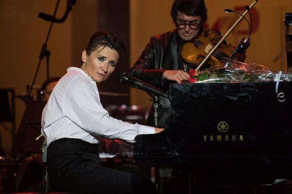 Диана Арбенина, Юрий Башмет. Фото - Екатерина Лызлова