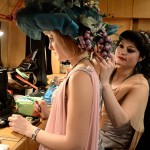 В гримерке перед спектаклем в Донецком театре оперы и балета. Фото - Мария Турченкова, специально для The Guardian