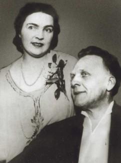 Мария Петцольд и Федор Шаляпин