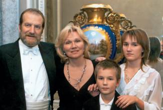 Семья Максима Шостаковича