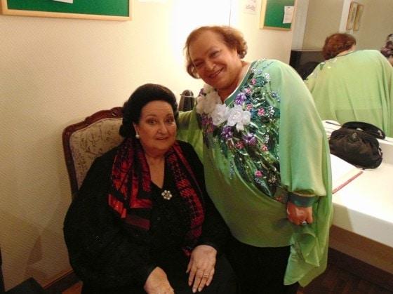 Встреча с великой Монсеррат Кабалье стала одним из самых ярких событий в жизни оперной певицы, бердчанки Лилии Ждановой
