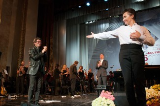 Юрий Башмет и Диана Арбенина