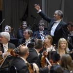 Дирижер Валерий Гергиев и Лондонский симфонический оркестр. Фото: ИТАР-ТАСС/Антон Тушин
