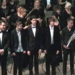 Пять молодых музыкантов выступили с Орловским оркестром