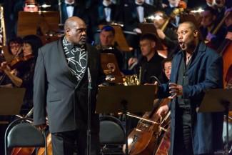 """На Шаляпинском фестивале состоялось концертное исполнение оперы """"Порги и Бесс"""""""
