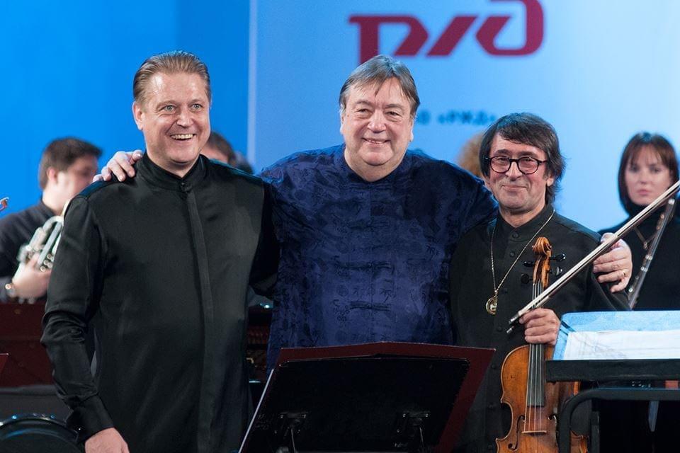 Александр Сладковский, Александр Чайковский, Юрий Башмет