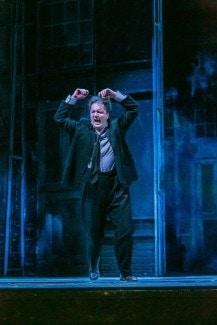 """""""Пляс Живаго"""". Владимир Байков в роли Юрия Живаго. Фото – Jochen Quast"""