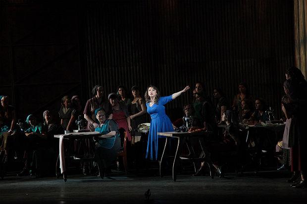 «Летучий голландец» в постановке Екатеринбургского театра оперы и балета