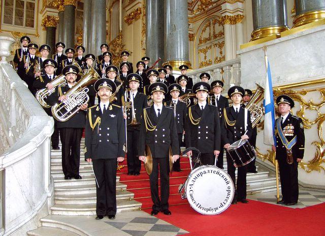 Адмиралтейский духовой оркестр Ленинградской военно-морской базы