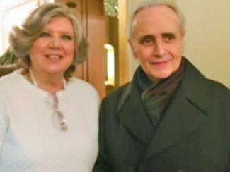 Любовь Глазкова и Хосе Каррерас