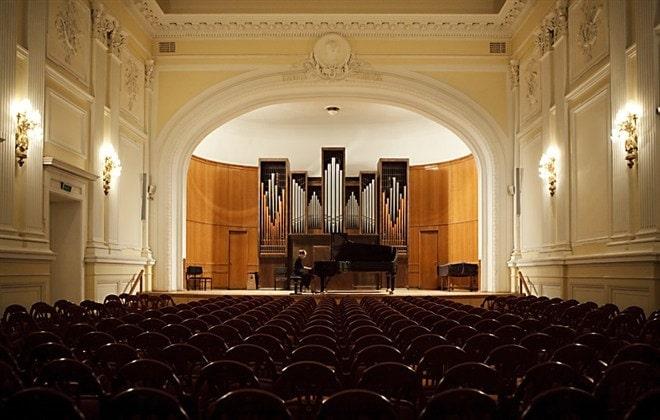 Малый зал Московской консерватории