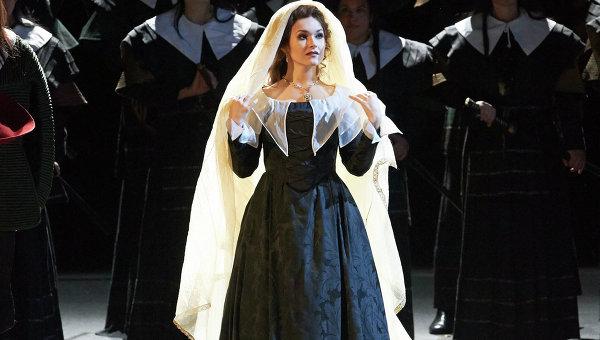 Ольга Перетятько с триумфом выступила в Венской опере. Фото: Wiener Staatsoper / Michael Pöhn
