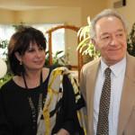 Ольга Ростропович и Юрий Темирканов. Фото - Александр Гайдук