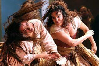 Постановка «Кармен» в Оперном театре в Сиднее в 2014 году