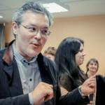 Вадим Репин на встрече со студентами НГУ