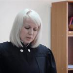 Судья Екатерина Сорокина